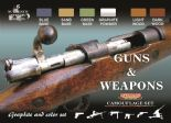 LC-CS26 Guns & Weapons Set (22ml x 6)